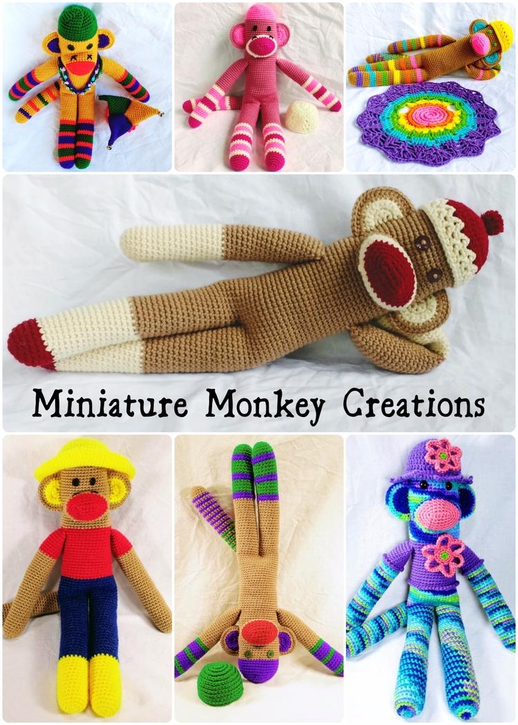 Happy monkey order choose ready - miniaturemonkeycreations | ello