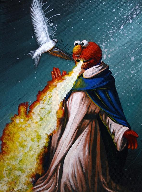 St. Elmos Fire, 8x10 print robe - bowenstuff | ello