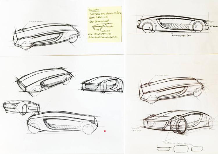 High-level sketches Michelin De - jamesowendesign | ello