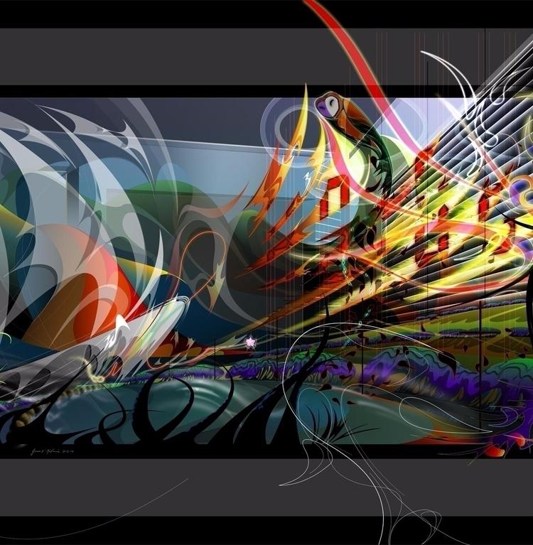 CURRENTS (Title complete tripty - james_mulvania | ello