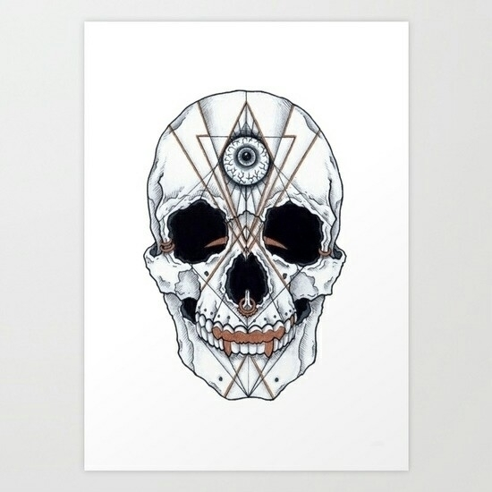'Dying art prints Society6 shop - nananut | ello