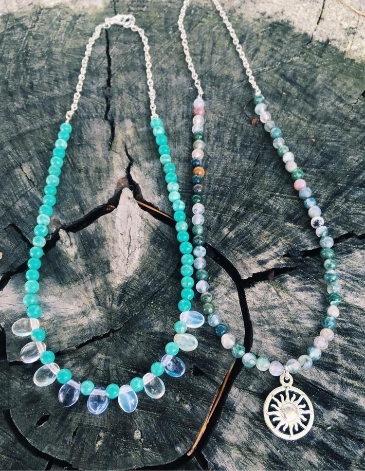 Turquoise Howlite Jasper beaded - gypsyxjewels | ello