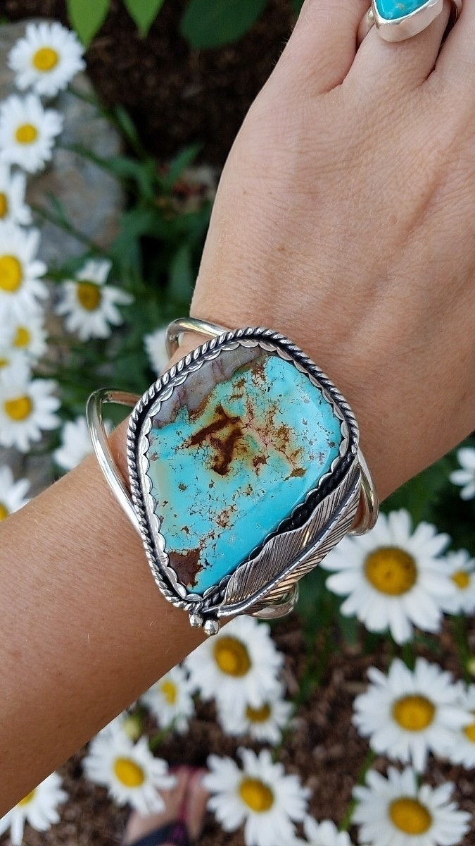 special cuff customer - turquoise - eclecticblingjewelry | ello