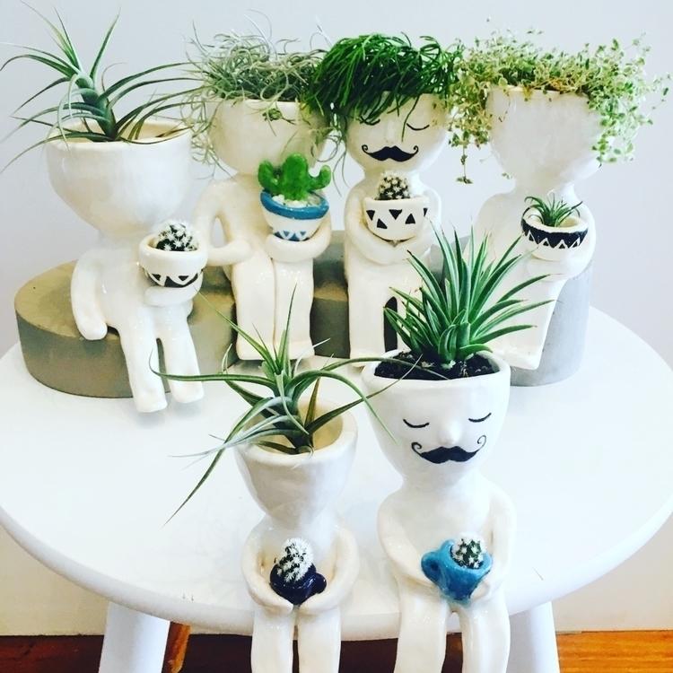 gang - pottery, ceramics, planters - livingdecortwins | ello