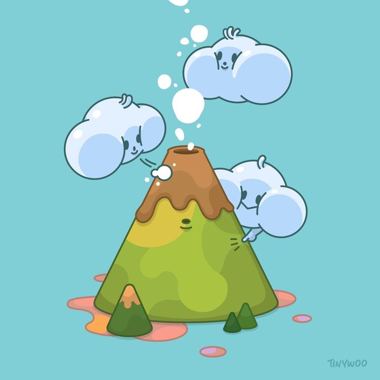 baby cloud trio - character, design - tinywoo | ello