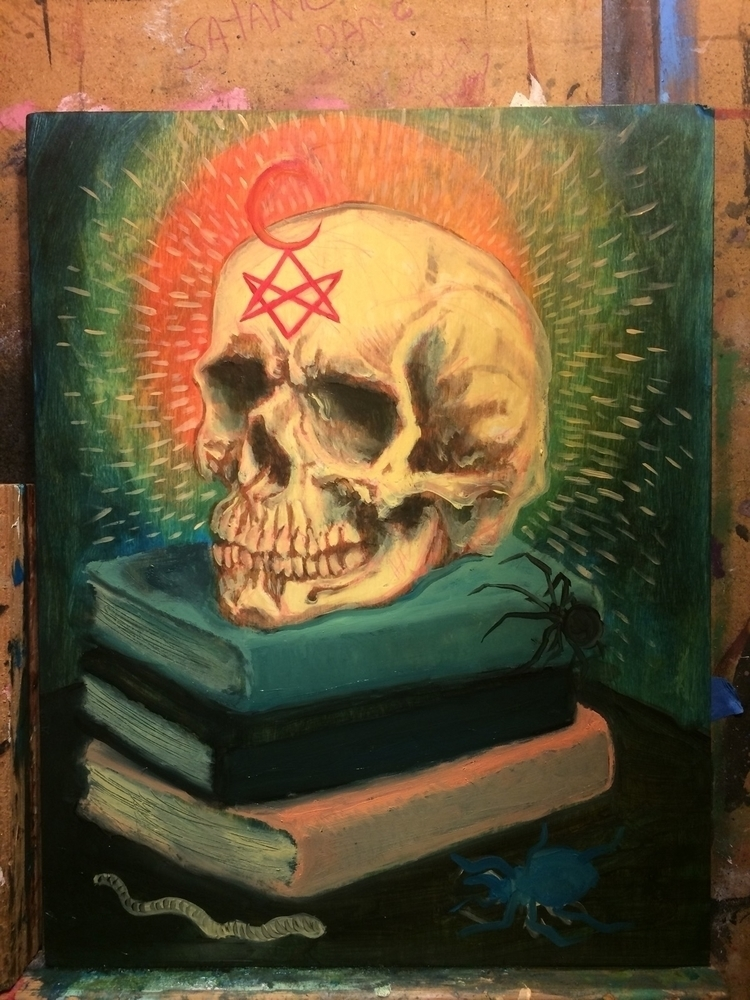 Started laying color - oilpaint - jeremycross | ello