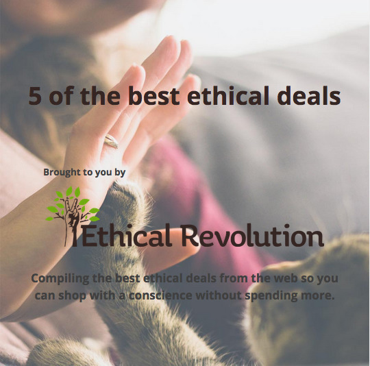 5 deals weeks - ethical, TheOnlyWayIsEthics - ethicalrevolution | ello
