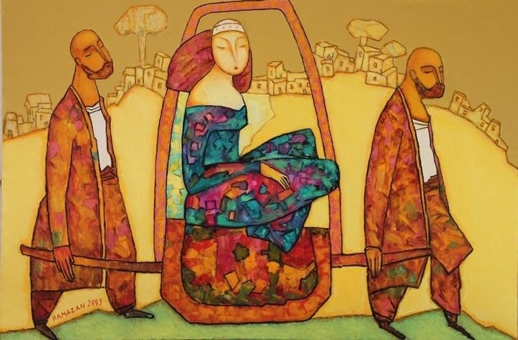 Ramazan Useinov, Bride, 2009, o - n2ngallery_uae | ello