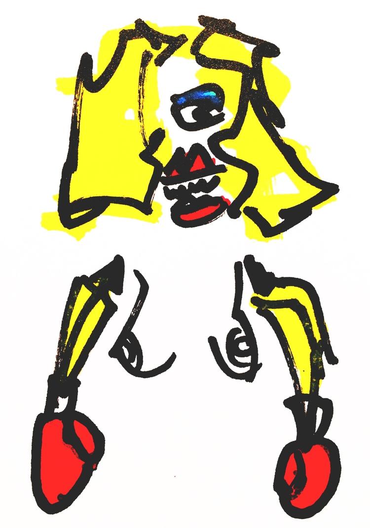 Banana-Arm Boxer Tiger Teeth, 2 - jkalamarz | ello