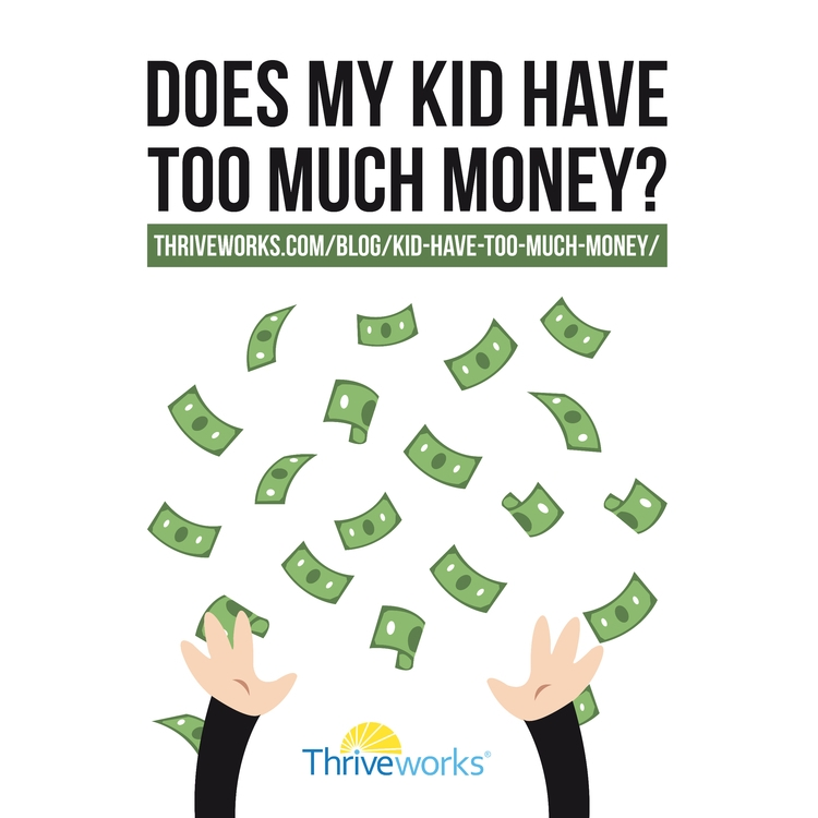 Kid Money?  - money, kidmoney, toomuchmoney - anthonycentore | ello