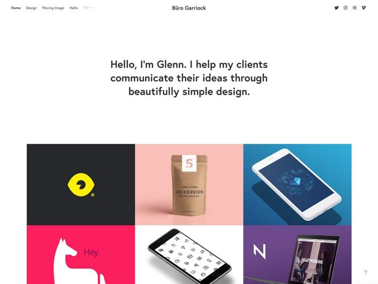 Finally giving website needed c - glenn   ello