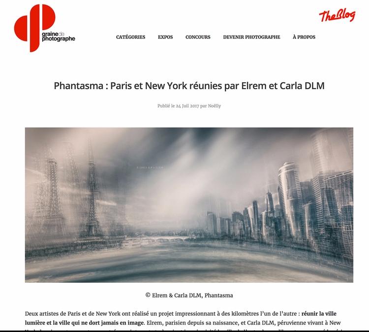 **PHANTASMA Series** YORK PARIS - carladlm | ello