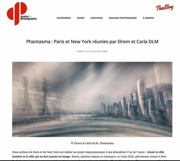 **PHANTASMA Series** YORK PARIS - carladlm | ello