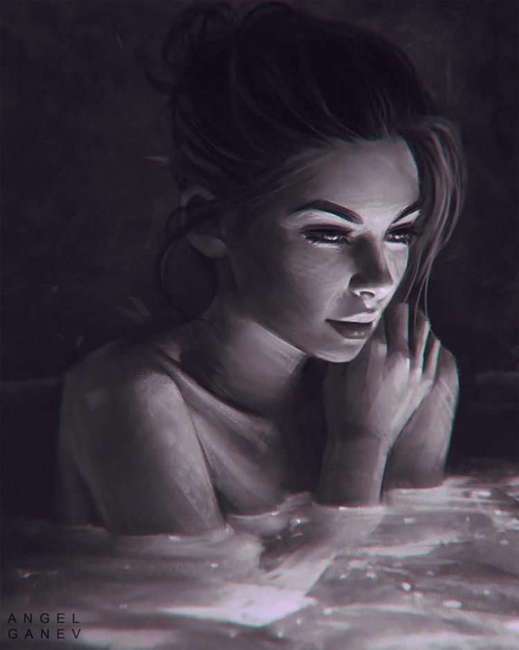 illustration, art, digital, painting - ukimalefu | ello