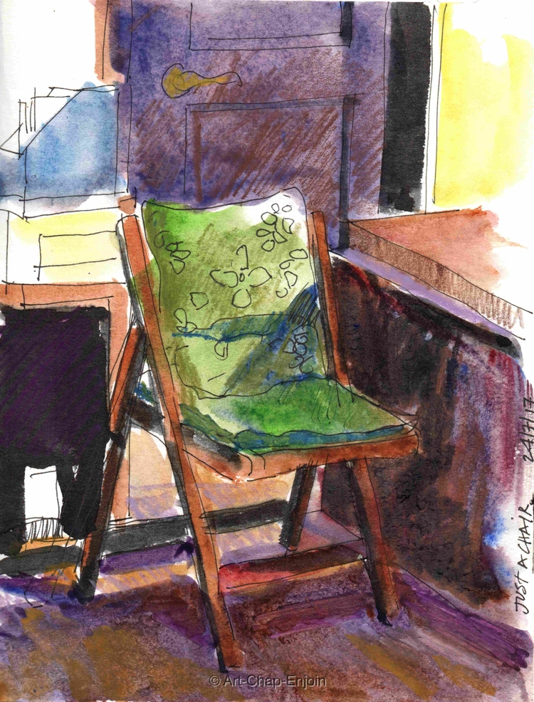 - chair late night sketch title - artchapenjoin | ello