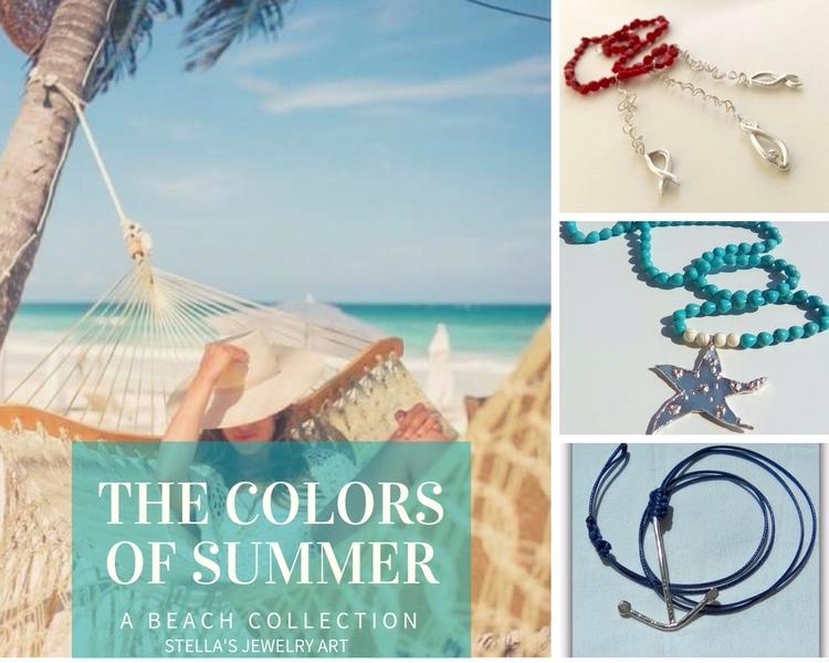 love sun!!! sea!!! summer!!! be - stellasjewelryart | ello