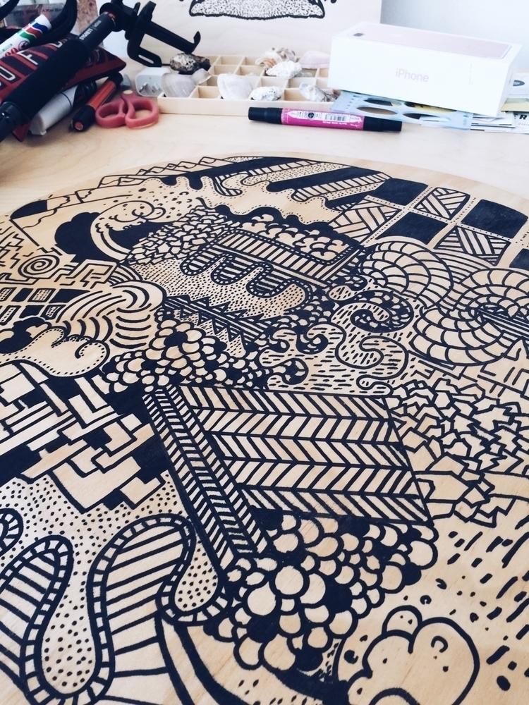 art, artist, abstractart, artoftheday - jbresciani | ello