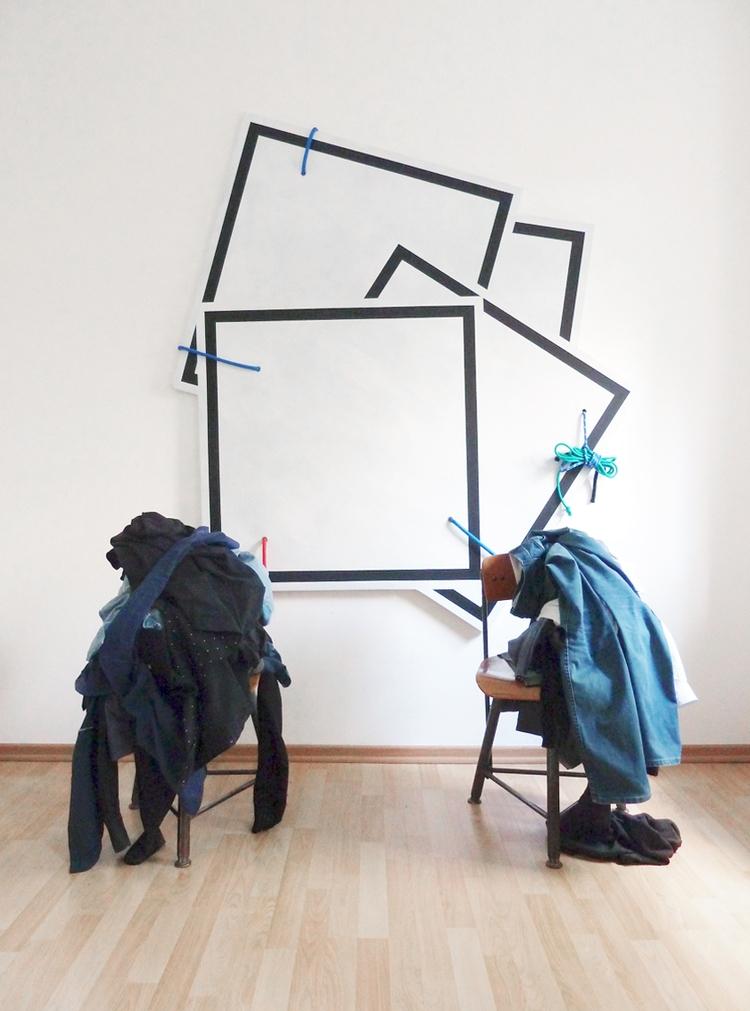 Frame work, metal eyelets, rope - franciscodamata | ello