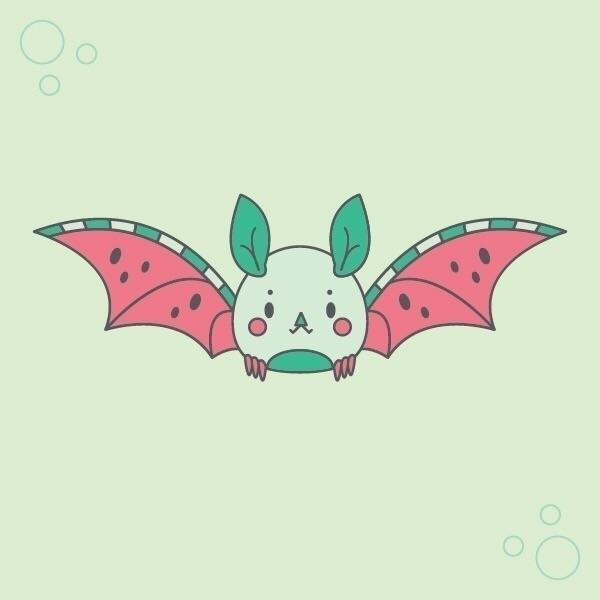 01. watermelon bat largest frui - nightlymade   ello
