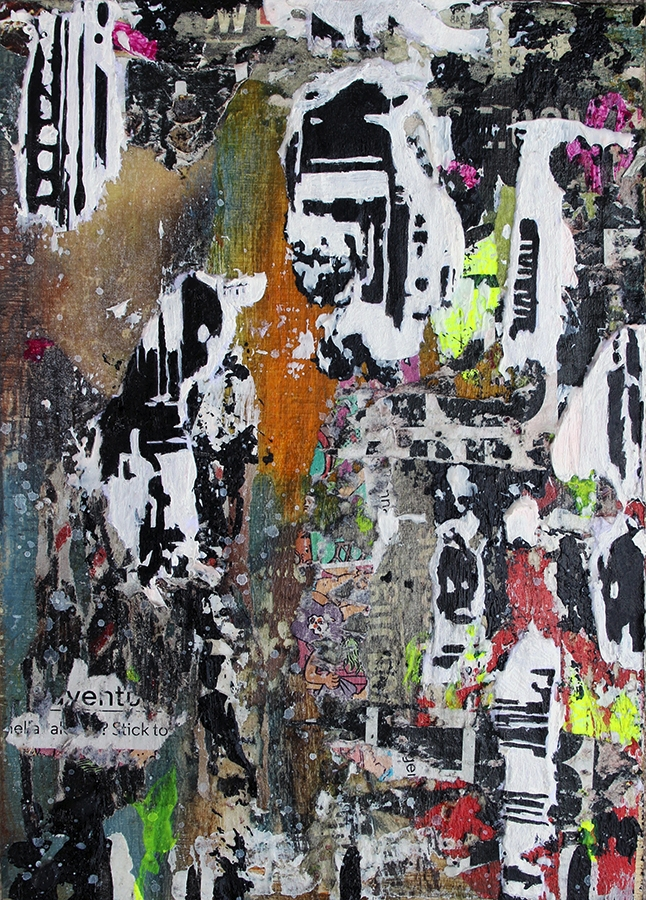 Title: Abstract NYC 7 Medium: A - damionismyname | ello