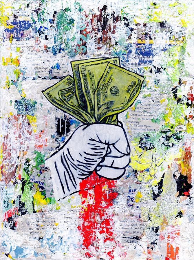Title: Blood Money Medium: Mixe - damionismyname   ello
