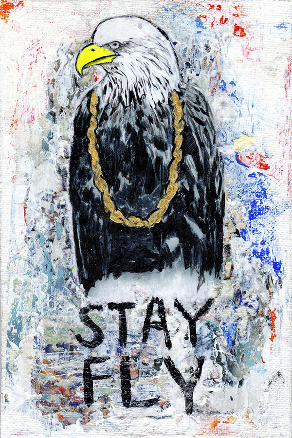 Title: Stay Fly Medium: Mixed M - damionismyname | ello