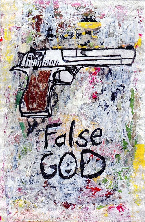 Title: False God Medium: Mixed  - damionismyname | ello