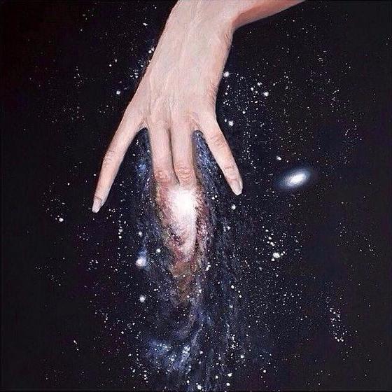 universe. Image source - kseniaanske | ello
