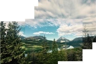 photo, photomosaic, glacierhalf - wordsavant | ello