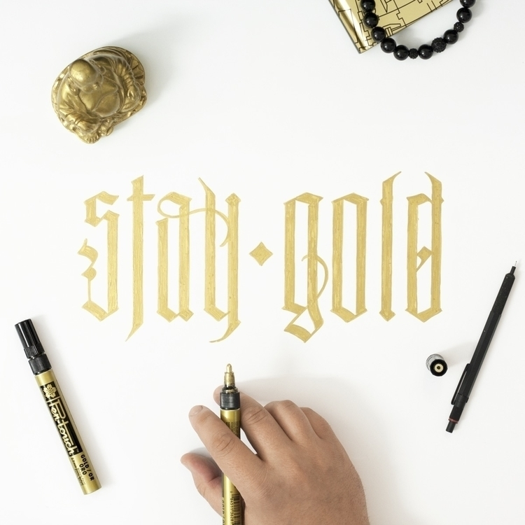 STAY GOLD Find | website behanc - adiorga | ello