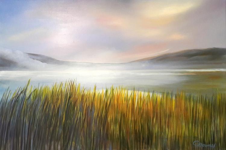 Horizons, oil/canvas, 16x21/40x - clairemesnil | ello