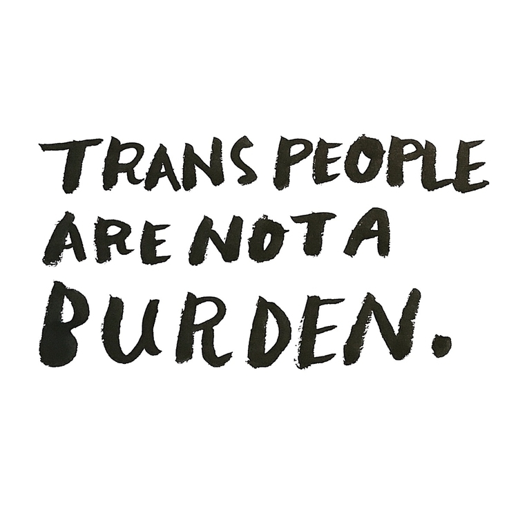 Trans People Burdern Day - TRAN - wawawawick | ello