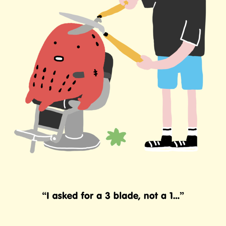 illustration, strawberry, fun - mickeygogo | ello
