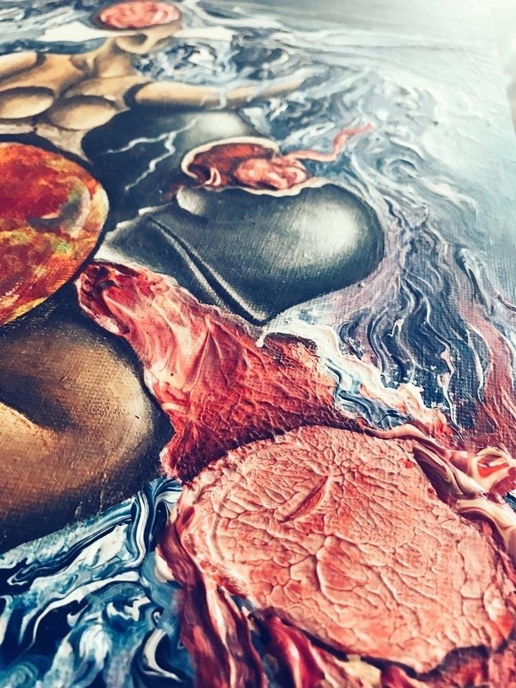acrylic, art, painting - tammam | ello