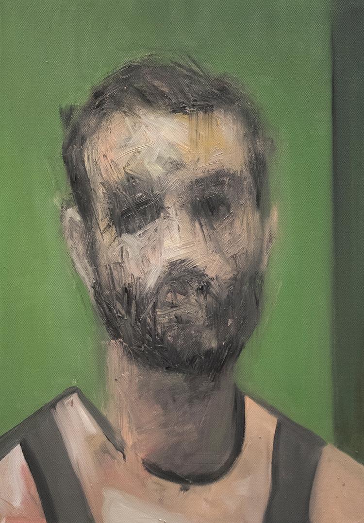 Reach Portrait) / Oil Canvas 56 - armandocabba | ello