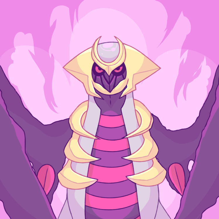 Giratina literally Satan love - pokemon - monsterboy | ello