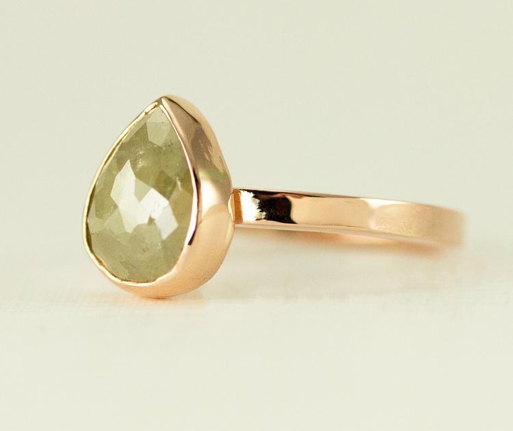 Custom raw diamond engagement r - allwirdupjd | ello