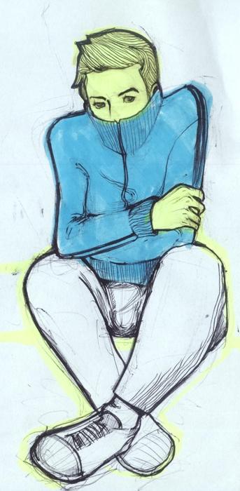 illustration, drawing, progress - nicolaenegura | ello
