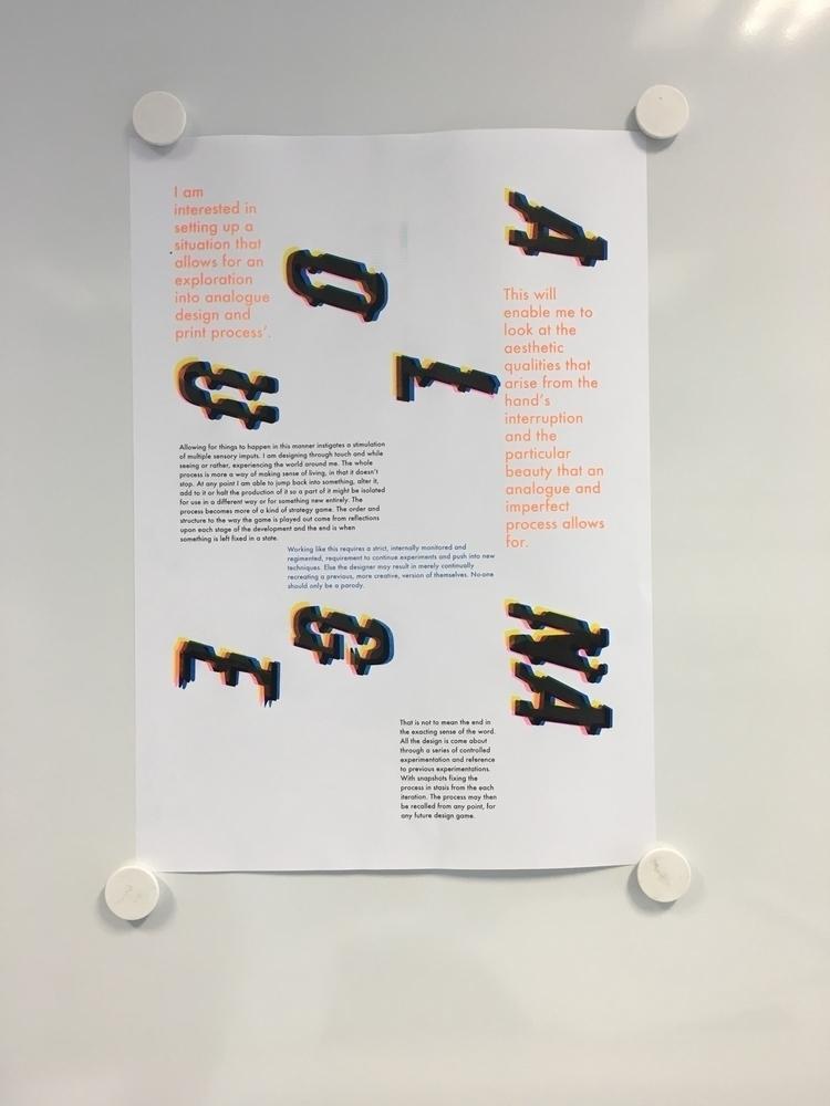 4 colour version poster hot. pi - luckydarren | ello