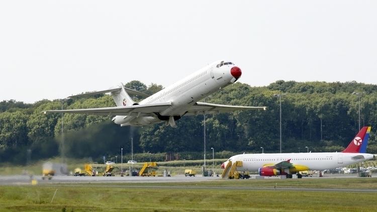 Færgeflyvning MD-87 starter fra - klavs1972 | ello