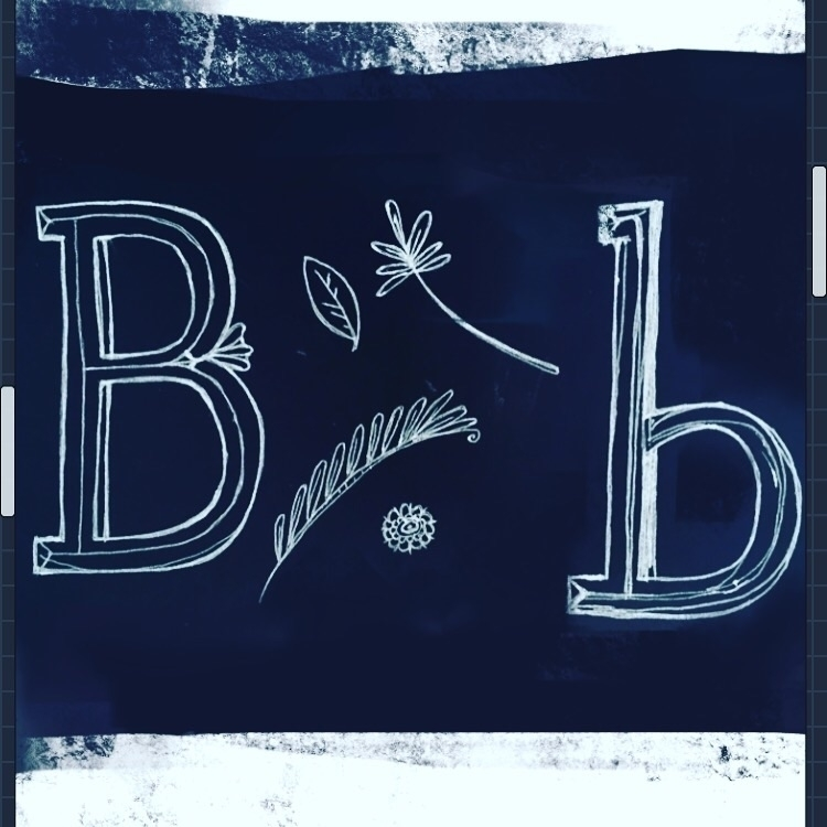 hand-drawn letters artfulness f - bethbarnett | ello