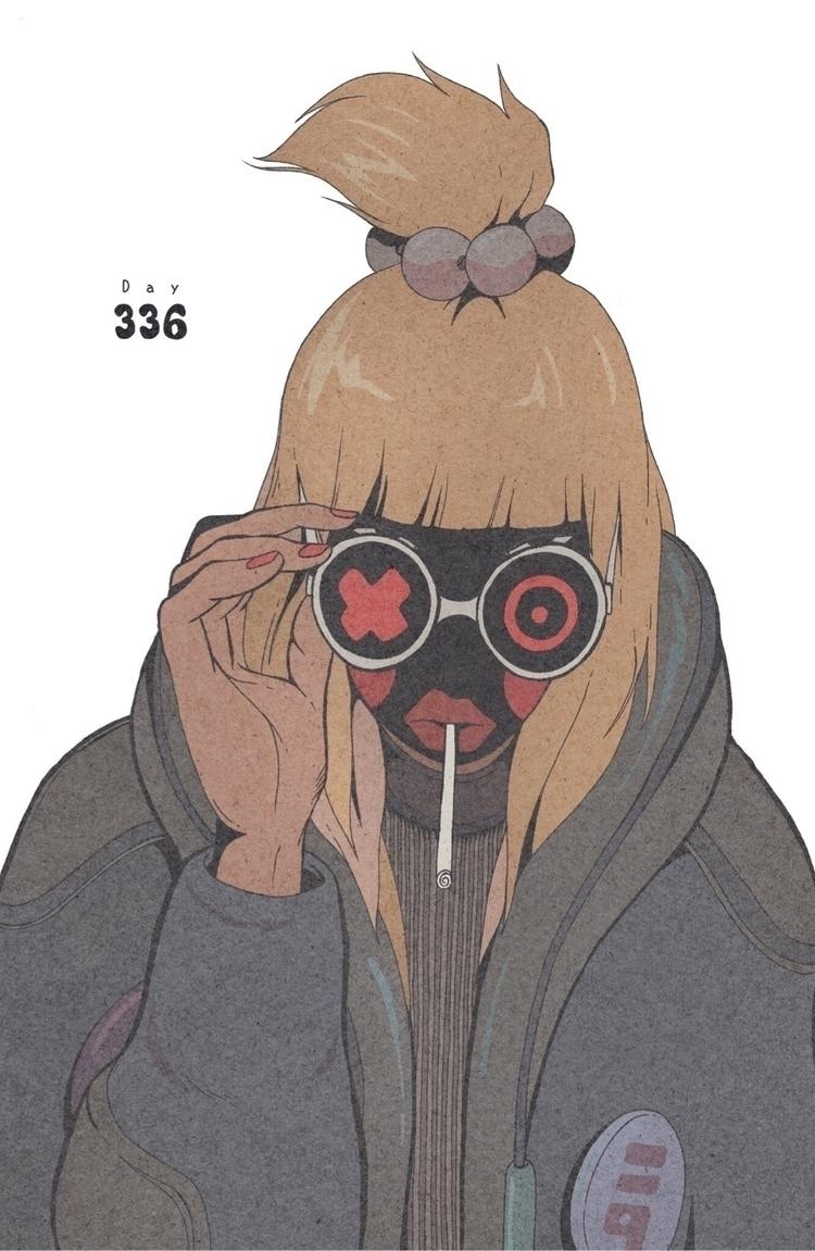 Day 336/365: Goodbye Candy - illustration - 1sles | ello