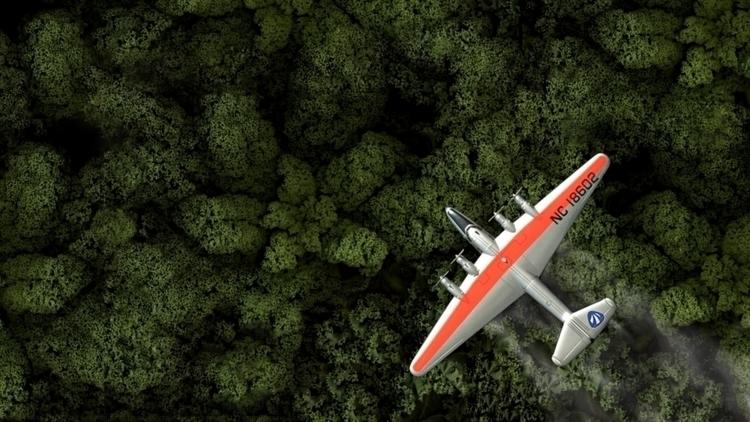 Flying Kale - Linux, background - kut-n-paste | ello