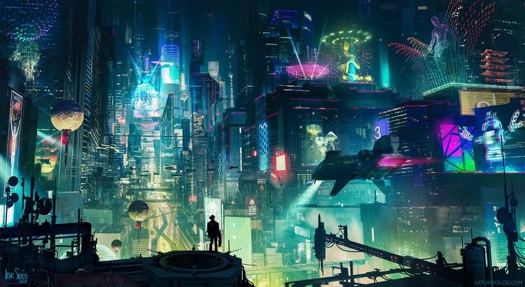 Cyberpunk City. Artur Sadlos (W - fabimo | ello