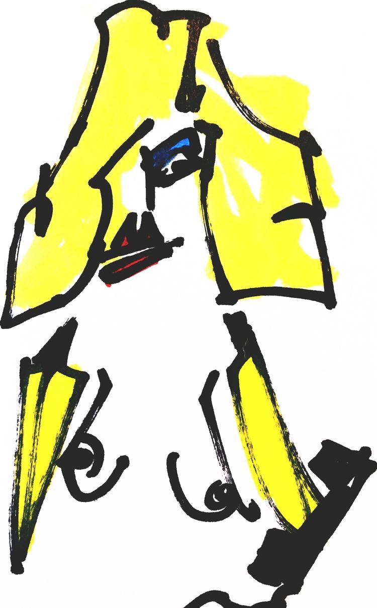 Banana-Arm Woman Phone Call Pre - jkalamarz | ello