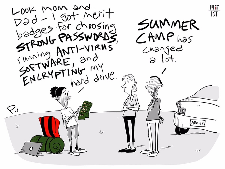 Swimming, smores, cybersecurity - chumworth | ello