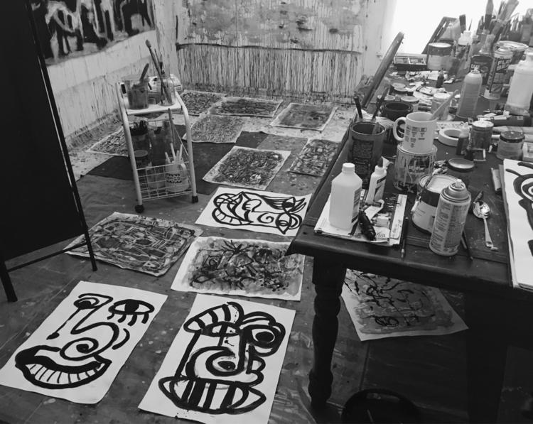 Studio, Los Angeles - ellonow, artiststudio - nicolamaria | ello