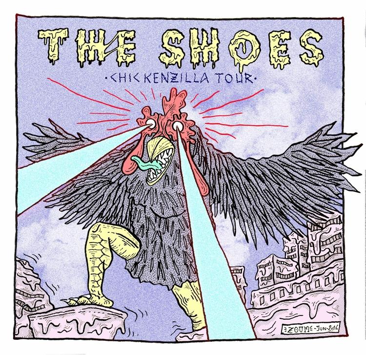 Cover - theshoes, art, illustration - thomas_zoum | ello