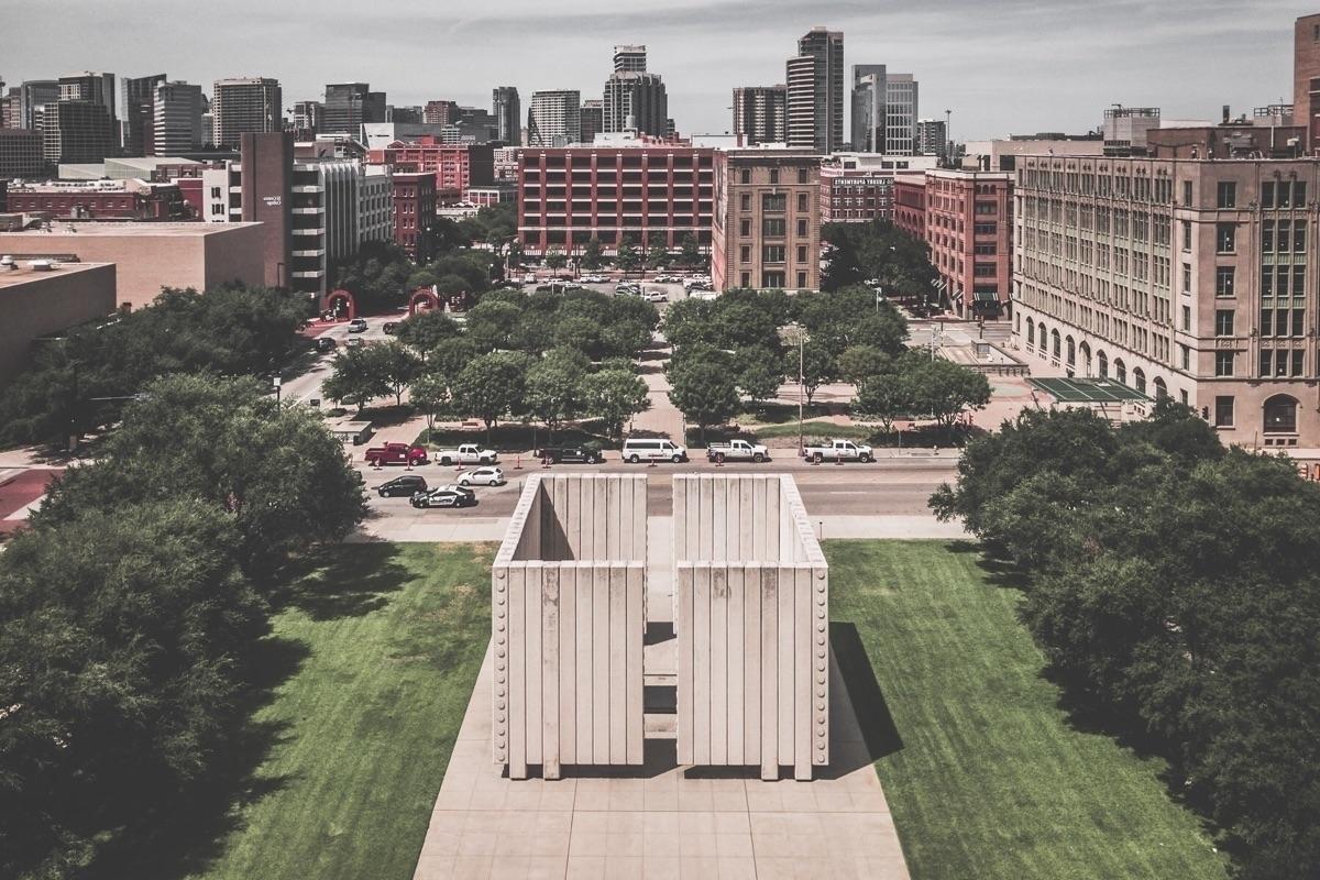 Overlooking Memorial aerial vie - mattgharvey   ello