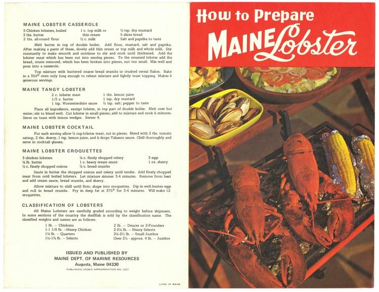 Maine Lobster Casserole, Tangy  - eudaemonius | ello